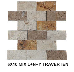 5X10 MIX LNY TRAVERTEN